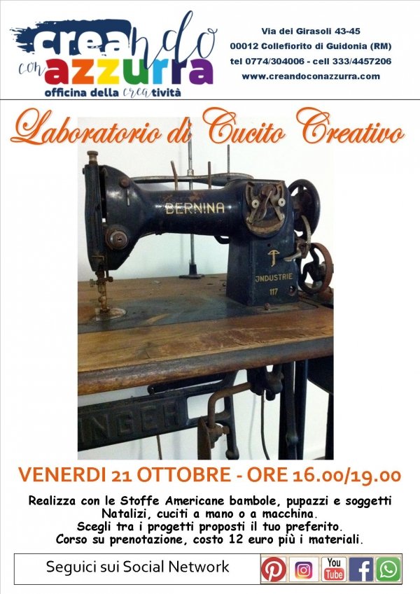 Laboratorio di Cucito Creativo