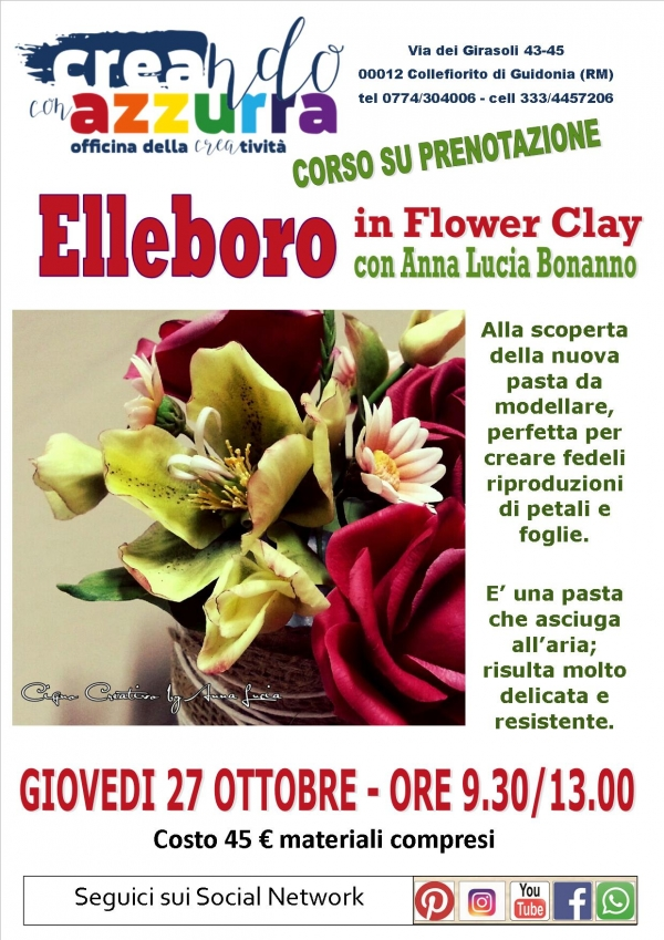 Elleboro in Flower Clay
